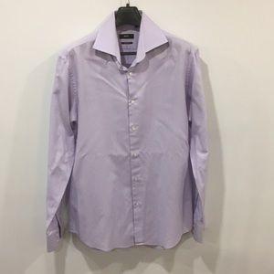 Hugo Boss Dress Shirt Light Purple sz 16 1/2 (42)